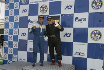 Podio gara 1, Semeraro Scarpellini (PBS Team, Alfa Romeo 159 #119) , TCR ITALY TOURING CAR CHAMPIONSHIP