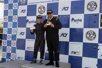 Podio gara 1 Renault Clio Cup, Libe Rognoni (Autostar, Renault Clio Cup Clio Cup #123) , TCR ITALY TOURING CAR CHAMPIONSHIP