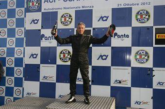 Podio gara 2, Carlo Gozzi (Bmw M3 SP #118) , TCR ITALY TOURING CAR CHAMPIONSHIP