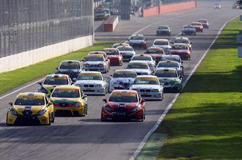 Start gara 2, TCR ITALY TOURING CAR CHAMPIONSHIP