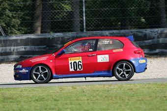 Barin Zuffi (Alfa Romeo 1900 Diesel #105), TCR ITALY TOURING CAR CHAMPIONSHIP