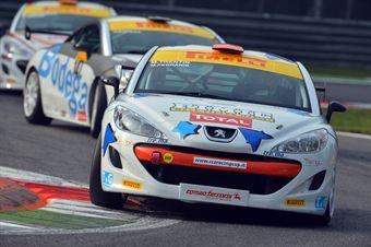 Ferraris Trentin (Romeo Ferraris, Peugeot RCZ Cup RCZ Cup #143) , TCR ITALY TOURING CAR CHAMPIONSHIP