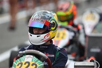 KF2   Julien Darras (Tony Kart Tm), ITALIAN ACI KARTING CHAMPIONSHIP