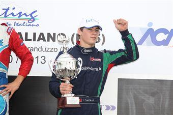 KF2   Julien Darras, ITALIAN ACI KARTING CHAMPIONSHIP