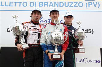 KF2   Podio gara 1, ITALIAN ACI KARTING CHAMPIONSHIP