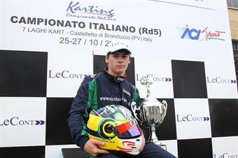 KF2   Julien Darras, CAMPIONATO ITALIANO ACI KARTING