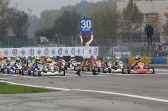 KF3   Norris (373) Pulcini (368), ITALIAN ACI KARTING CHAMPIONSHIP