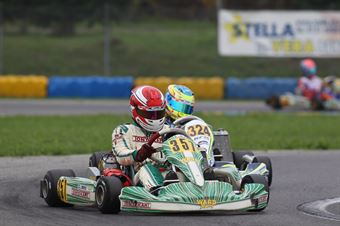 KF3   Linus Lundqvist (Tony Kart.Vortex), CAMPIONATO ITALIANO ACI KARTING
