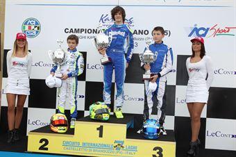 KF3   Podio gara 1, CAMPIONATO ITALIANO ACI KARTING