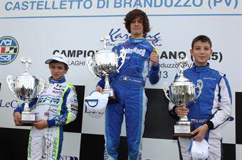 KF3   Podio gara 1, ITALIAN ACI KARTING CHAMPIONSHIP
