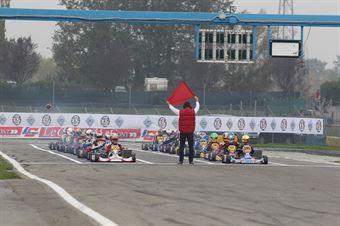 KZ2   Start 1, ITALIAN ACI KARTING CHAMPIONSHIP