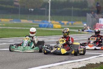KZ2   Glenister (195) Serenko (176), ITALIAN ACI KARTING CHAMPIONSHIP