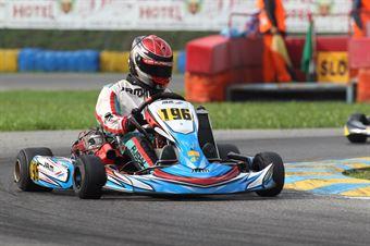 KZ2   Jamie Rush (SKM Modena), ITALIAN ACI KARTING CHAMPIONSHIP