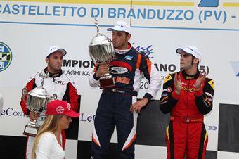 KZ2   Podio gara 1 Giulietti, ITALIAN ACI KARTING CHAMPIONSHIP