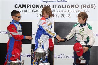 60 MINI   Podio Finale 1, ITALIAN ACI KARTING CHAMPIONSHIP