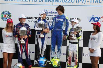 KF3   Vartanyan, Lorandi, ITALIAN ACI KARTING CHAMPIONSHIP