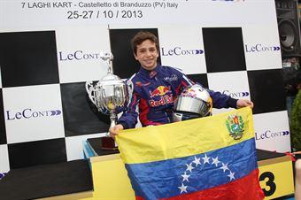 KF3   Mauricio Baiz, ITALIAN ACI KARTING CHAMPIONSHIP
