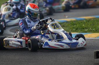 KF2   Noorzlan Amin (Super Winforce Parilla), ITALIAN ACI KARTING CHAMPIONSHIP