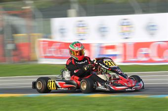 KF2   Stefano Lovchalieb (Wild Kart Tm), CAMPIONATO ITALIANO ACI KARTING