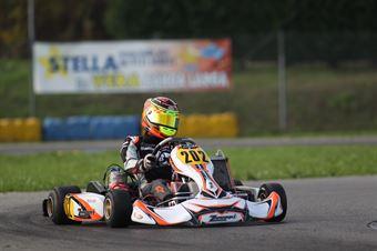 KF2   Callum Ilott (Zanardi Tm), CAMPIONATO ITALIANO ACI KARTING