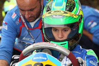 KF3   Leonardo Lorandi (Tony Kart Parilla), CAMPIONATO ITALIANO ACI KARTING