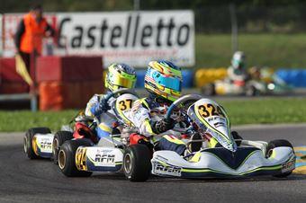 KF3   Logan Sargeant (FA Kart Vortex), CAMPIONATO ITALIANO ACI KARTING
