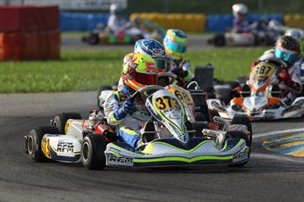KF3   Lando Norris (FA Kart Vortex), ITALIAN ACI KARTING CHAMPIONSHIP