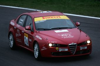 Semeraro Barin (Alfa Romeo 2.4 JTD D 2.5T #24), TCR ITALY TOURING CAR CHAMPIONSHIP