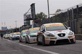 D'Amico Tresoldi (PAI SRL, Seat Leon Long Run B 2.0T #8), TCR ITALY TOURING CAR CHAMPIONSHIP