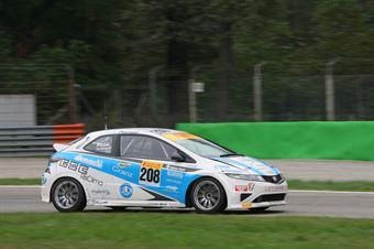 Piccin Dell'Antonia (A.S.D. Super 2000, Honda Civic Type R B 24h 2.0 #208), TCR ITALY TOURING CAR CHAMPIONSHIP