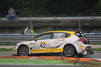 Zangari Zangari (TJEMME, Seat Leon Seat SC #42), TCR ITALY TOURING CAR CHAMPIONSHIP