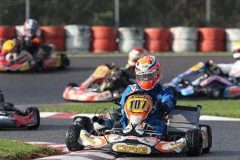 KZ2   Cesare Albano Strucco (CRG Tm), ITALIAN ACI KARTING CHAMPIONSHIP