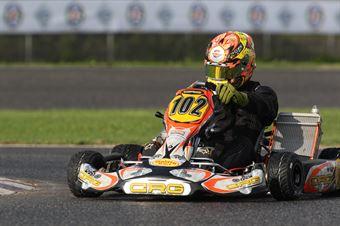 KZ2   Pierluigi Giglio (CRG Tm), ITALIAN ACI KARTING CHAMPIONSHIP