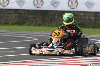 125 Club   Francesco Valerio (CRG Tm), ITALIAN ACI KARTING CHAMPIONSHIP