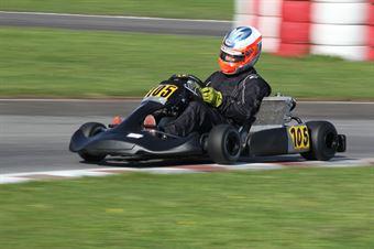 KZ2   Massimo Albano Strucco (Rosso Korsa Modena), ITALIAN ACI KARTING CHAMPIONSHIP