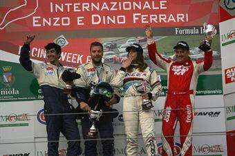Gara 2 podio Peugeot RCZ, Sabbatini Piria (2T Course&Reg Lage,Peugeot RCZ R #27), Perucca Orfei Ponzio (2T Corse&Reg Lage,Peugeot RCZ Cup #51), TCR ITALY TOURING CAR CHAMPIONSHIP