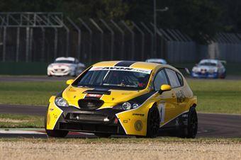 Busnelli Moccia (DTM Motorsport, SEAT Leon Long Run B 2.OT #1) , TCR ITALY TOURING CAR CHAMPIONSHIP