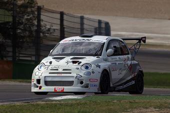 Mario Ferraris ( Romeo Ferraris Srl, Abarth 500 #299), TCR ITALY TOURING CAR CHAMPIONSHIP