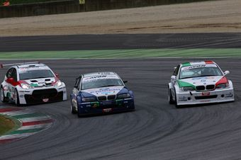 Mariano Bellin (Pro.Motorsport Srl,BMW 320i B24 2.0#204), Pierluigi Malatesta (WRT Srl,BMW 3201 B 24h 2.0 #206), Notarnicola Montalbano (Autostar Motorsport,Renault New Clio B24 2.0 #212) , TCR ITALY TOURING CAR CHAMPIONSHIP