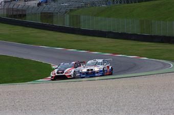 Jordi Genè Guerrero(Seat Motorsport Italia,Seat Leon Racer TCR #103), Meloni Tresoldi (W&D Racing Team,BMW M3 E46 #1) , TCR ITALY TOURING CAR CHAMPIONSHIP
