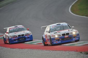 Meloni Tresoldi (W&D Racing Team,BMW M3 E46 #1), Palazzo Zanin (W&D Racing Team,BMW M3 E46 #2) , TCR ITALY TOURING CAR CHAMPIONSHIP