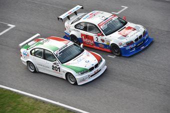 Filippo Maria Zanin (Pro.Motorsport, BMW 320i B24h 2.0 #201), Palazzo Zanin (W&D Racing Team,BMW M3 E46 #2) , TCR ITALY TOURING CAR CHAMPIONSHIP
