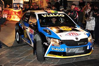Marquito Bulacia, Fabian Cretu (Skoda Fabia R5 #8, PA Racing), CAMPIONATO ITALIANO RALLY TERRA