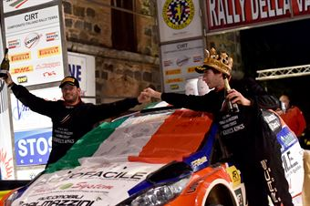 Andrea Dalmazzini, Giacomo Ciucci (Ford Fiesta R5 #1, X Race Sport), CAMPIONATO ITALIANO RALLY TERRA