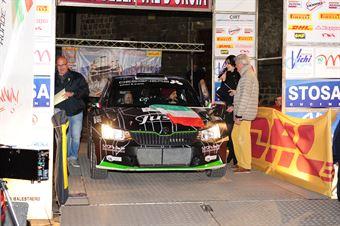 Luca Hoelbling, Mauro Grassi (Skoda Fabia R5 #3, Movisport), CAMPIONATO ITALIANO RALLY TERRA