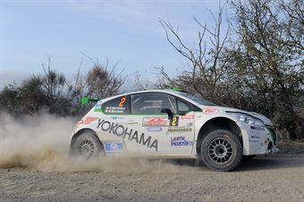 Nicolo Marchioro, Marco Marchetti (Peugeot 208 T16 R5 #2, Power Car Team), CAMPIONATO ITALIANO RALLY TERRA
