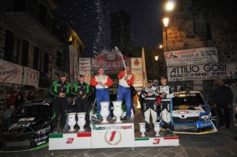 Cerimonia di premiazione, CAMPIONATO ITALIANO RALLY TERRA