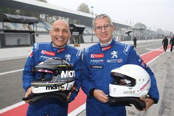 Della Monica (Arduini Corse,PeugeoT 308 MI16 TCT#102), Paolo Pirovano (Arduini Corse,PeugeoT 308 MI16 TCT#103) , TCR ITALY TOURING CAR CHAMPIONSHIP