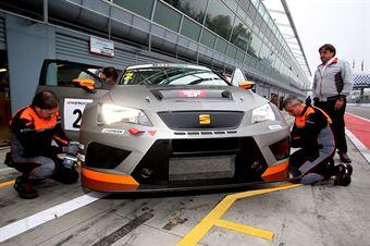 Jordi Gene (Seat Motorsport,Seat leon Racer TCR #2) , TCR ITALY TOURING CAR CHAMPIONSHIP