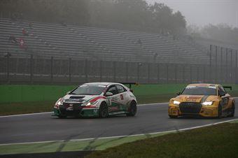 Eric Scalvini (MM Motorsport,Honda Civic TCR TCR #9), Max Mugelli (Pit Lane,Audi RS3 LMS TCR #3) , TCR ITALY TOURING CAR CHAMPIONSHIP